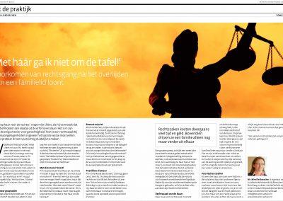 Redigeren van artikelen voor tijdschrift Maison en France