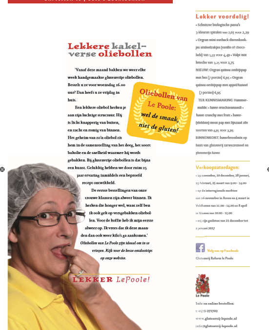 Advertorial (periodiek) Glutenvrij Magazine