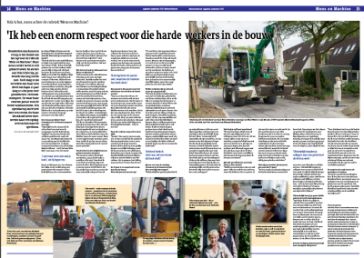 Interview (spread) Materieelkrant
