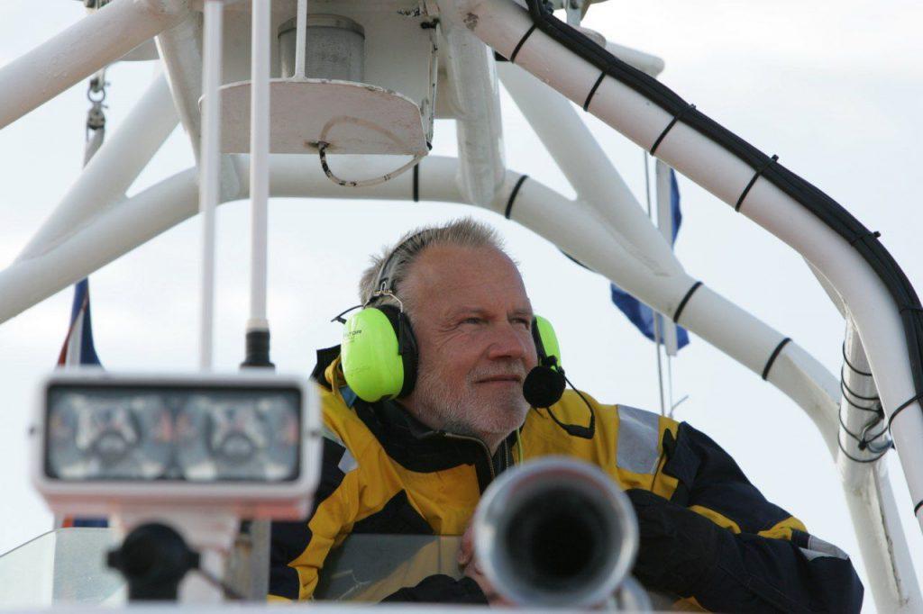 Liefde voor de zee KNRM Arie Verbaan