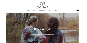 Websiteteksten voor webshop Mouwz