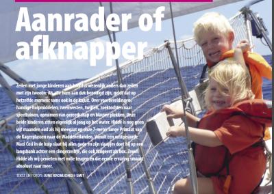 Artikel Varen – Rondje Atlantic met kinderen