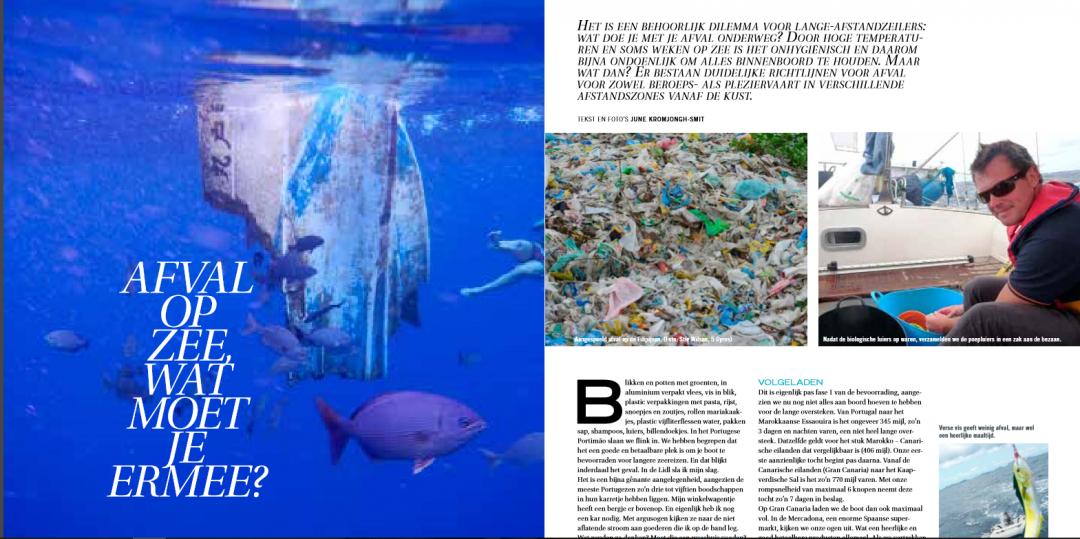 Achtergrondartikel Zeilen – Afval op zee