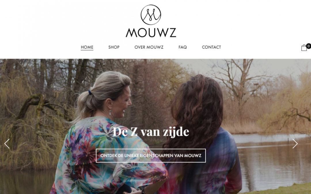 Websiteteksten Mouwz